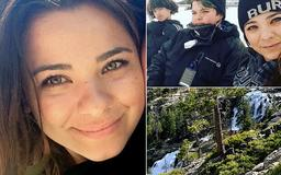 PICTURED: Mother of three, 35, who lost her footing and slipped while reaching for a tree branch at a Lake Tahoe waterfall and fell 150 feet to her death