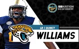 What are the Jaguars getting in Quincy Williams?