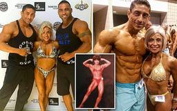 Ripped 70-year-old woman shows off her toned figure as she becomes a BODYBUILDING champion - defying doctors who told her she would 'never' compete after arthritis diagnosis