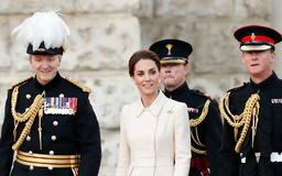 Kate Middleton Made a Surprise Appearance in the Prettiest Cream Coat for the Beating Retreat Ceremony