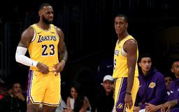 Rajon Rondo explains how Lakers were affected by Anthony Davis trade rumors, LeBron James