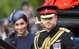 A Lip Reader Reveals What Prince Harry Said to Meghan Markle During Their Trooping the Colour Carriage Ride