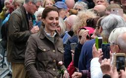 Kate Middleton goes casual in jacket and boots for country outing day