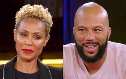 Jada Pinkett Smith laughs out loud when rapper Common says marriage would be 'fun'