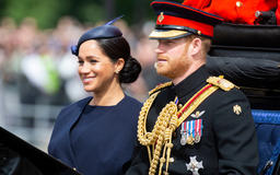 Meghan Markle Makes Post-Baby Debut At Trooping The Colour 5 Weeks After Giving Birth