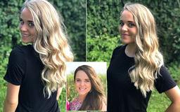 A California blonde! Former brunette Jinger Duggar dyes her hair ahead of move to Los Angeles, where her husband will attend seminary school