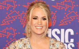 Carrie Underwood shares adorable photo of son helping before her show