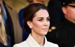 Kate Middleton Wears Her Favorite Nude Pumps for Fireworks Display at Military Ceremony
