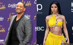 Will Smith Shares a Hilarious Face-Swapped Video of Him and Cardi B
