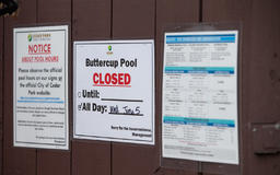 Police investigating incident at Buttercup Pool after young girl's death