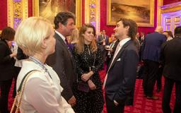 Princess Beatrice and boyfriend Edoardo Mapelli Mozzi join Prince Andrew at St James' Palace for royal event