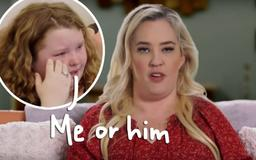 Mama June's Boyfriend Crashes SUV Into Her Garage — & Honey Boo Boo Refuses To Move Back In Unless She Dumps Him!