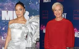 Tessa Thompson Comes Clean About Hitting Emma Thompson With a Door During First Meeting
