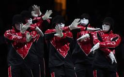 Did You See The Jabbawockees At The Game?
