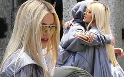 Khloe Kardashian heads to Kanye West's Sunday Service as O.J. Simpson denies being her father and hits back at claims of a 'hot-tub hookup' with Kris Jenner