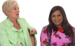 'I completely sweated through the side of my dress': Mindy Kaling, Emma Thompson recall first late night appearances