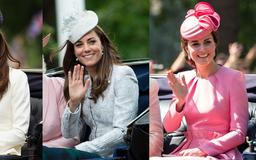 A Complete History of Kate Middleton's Trooping the Colour Fashion