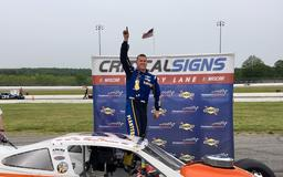 Happy Homecoming: Ryan Preece Wins SK Modified Feature In Return To Thompson Speedway
