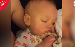Mum begs every parent to watch 20-second video that saved her little girl's life