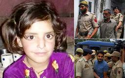 Three men who murdered an eight-year-old girl after raping and torturing her for days in India are spared the death penalty and sentenced to life in prison