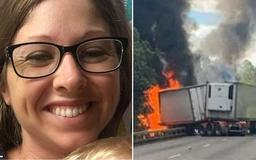 PICTURED: Mother who died in horror crash that also killed her husband - as their baby boy who was miraculously pulled from the wreckage is orphaned along with his brother