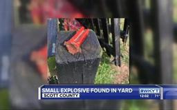 Bomb squad called in after blasting cap found in Georgetown yard