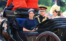 Duchess Meghan makes first public appearance since giving birth