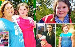 'She started becoming a woman at two years old': Heartbroken mother reveals how her daughter went through puberty when she was a toddler - and is now dealing with menopause at age SEVEN