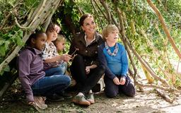Kate Middleton awarded a second Blue Peter badge as she makes special appearance