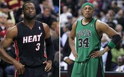 Even in Retirement, Paul Pierce Keeps Getting Dunked On. Dwayne Wade Weighs In.