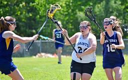 Class C girls lacrosse: St. Dom's, Lake Region battle for state title again