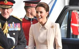 Kate Middleton Steps Out to Honor Troops as She Takes the Salute at Spectacular Military Parade