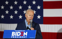 Joe Biden says China's thefts of U.S. technology have increased on Donald Trump's watch