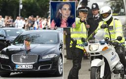 Widow critical after Prince William and Kate Middleton's bike escort hits her on way to Windsor
