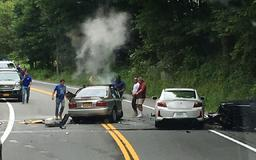 Multiple Vehicle Crash in Town of Newburgh, 1 Dead and Several Injured