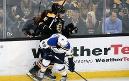 Blues' Barbashev suspended for Game 6