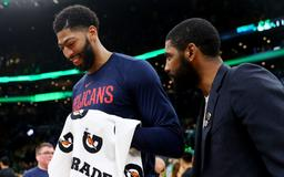Lakers Rumors: Kyrie Irving wants to play with Anthony Davis