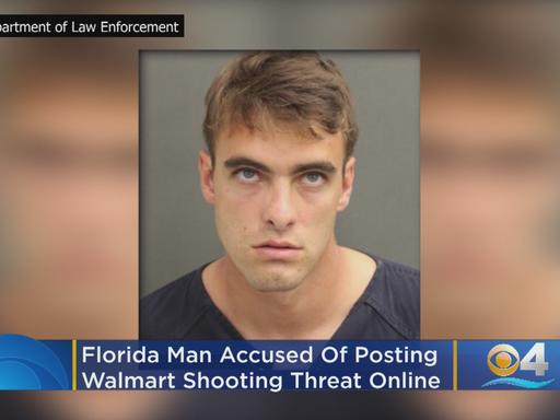 Don't Go To Walmart Next Week': Florida Man Arrested After Shooting
