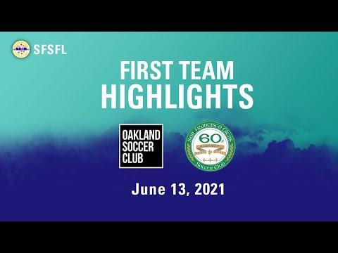 Oakland SC v SF Glens with commentary