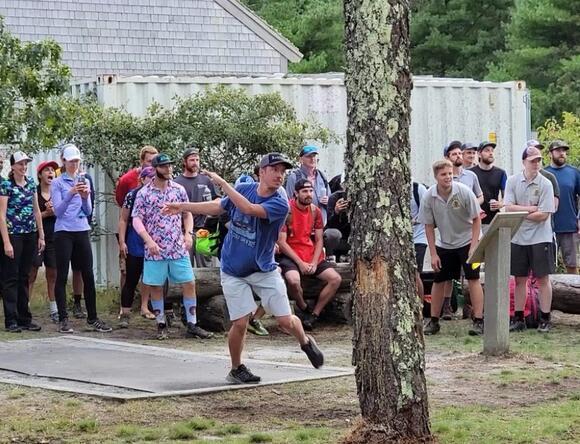 Nantucket hosts Disc Golf Open