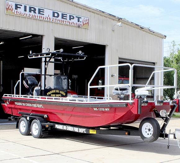 Fire and rescue boat added to PdC's fleet