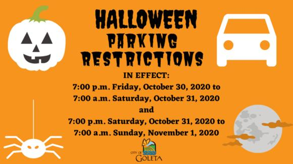 Isla Vista Halloween 2020 Restrictions Halloween Parking Restrictions Return for 2020 | News Break