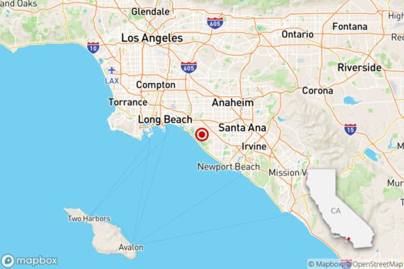 Earthquake 2 5 Temblor Shakes Huntington Beach News Break