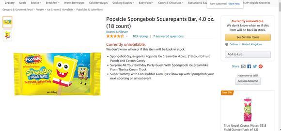 4-year-old boy hailed as a 'hero' for accidentally spending thousands on Spongebob  popsicles - News Break