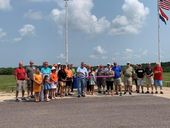 Lake Area Chamber Holds Ribbon Cutting For MO Trap Shooters Association