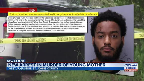Man arrested in St. Augustine shooting that left pregnant mother dead, according to SJSO