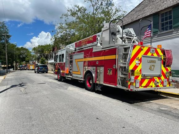 Trolley overturns in St. Augustine, 12 hurt, officials say
