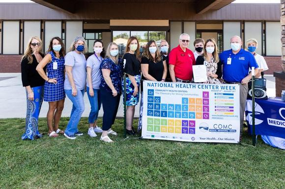 Central Ozarks Medical Center Celebrates 'COMC Day' In Camdenton, Launches New Mobile Medical Unit