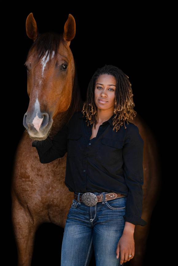 Brianna Noble and her steeds are bringing Humble to the neigh-sayers