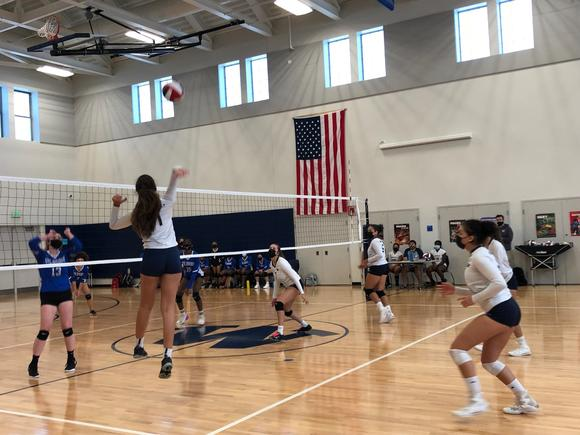 Volleyball beats Holbrook for first win of the season